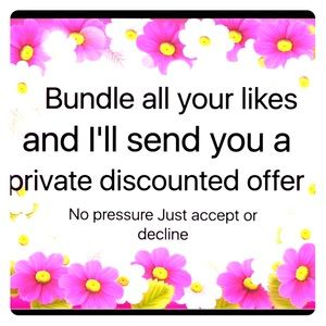 Other - Bundle all your likes!!!